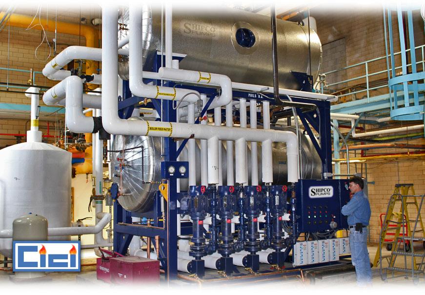 Shipco pumps cici boiler rooms