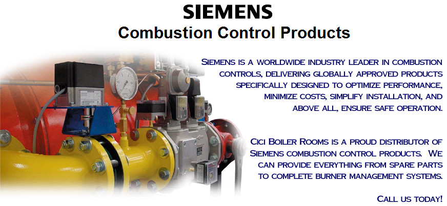 Siemens Combustion Controls Cici Boiler Rooms